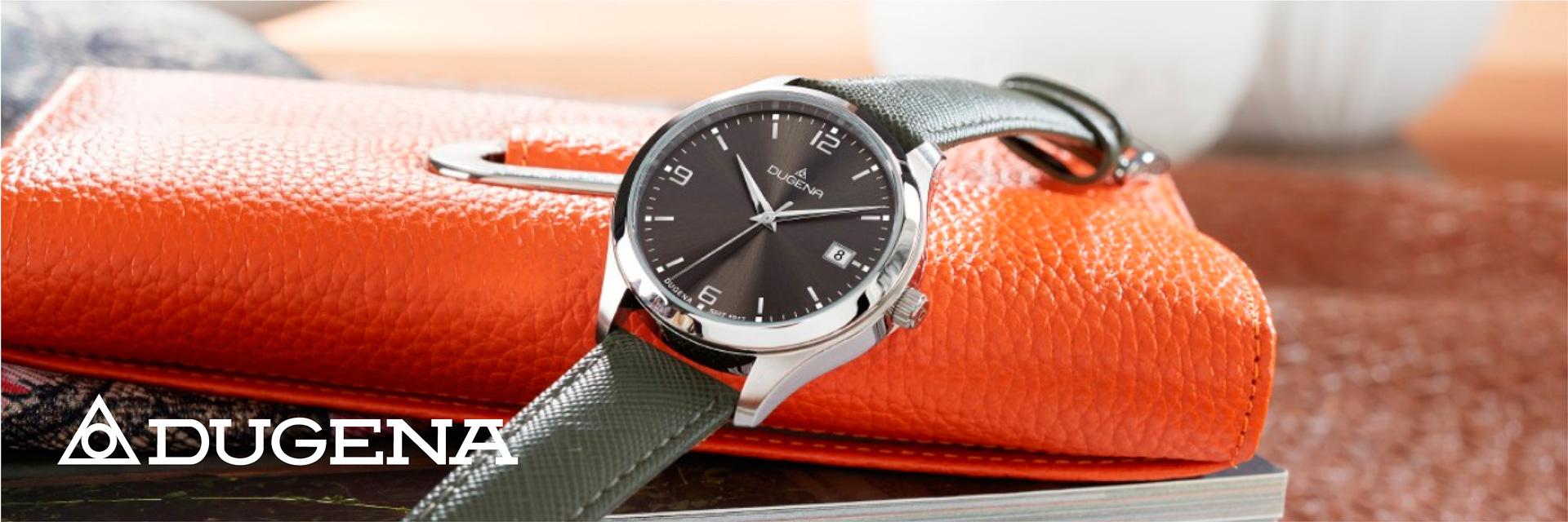 Klassischen Armbanduhren von Dugena